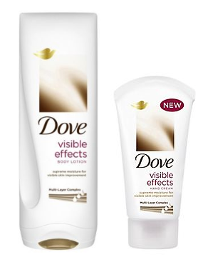 Dove Visible Effects Body Lotion & Hand Cream