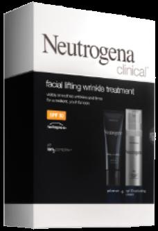 Neutrogena Clinical SPF 30 Facial Lifting Wrinkle Treatment