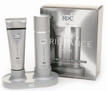 Roc Brilliance Night Recharging Moisturizer