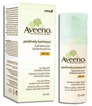 Aveeno Positively Luminous Hydratant Jour SPF 15 / SPF 15 Moisturizer