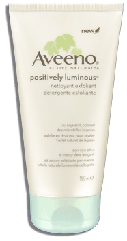 Aveeno Positively Luminous Nettoyant Exfoliant / Exfoliating Cleanser
