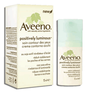Aveeno Positively Luminous Soin Contour des Yeux / Eye Care