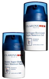 Clarins Men Super Moisture Gel & Balm
