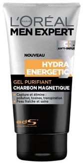 L'Oréal Men Expert Hydra Energetic Magnetic Carbon Gel Cleanser