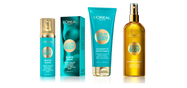 L'Oréal Paris Sublime Body range