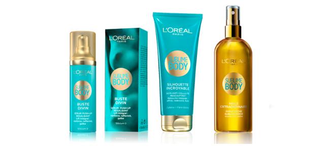 L'Oréal Paris Sublime Body range