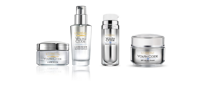 L'Oréal Youth Code Luminize / Dark Spot range