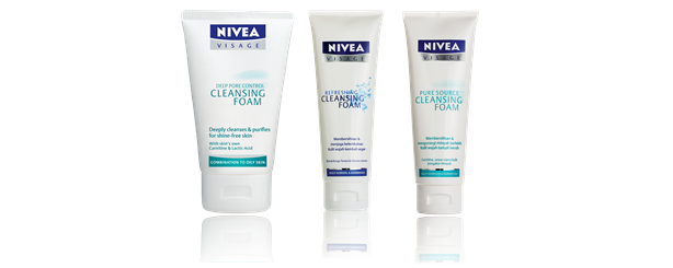 Nivea Visage Essentials Cleansing Foam