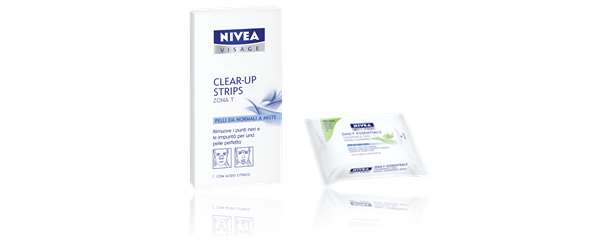 Nivea Visage Essentials Clear-up Strips / Wipes