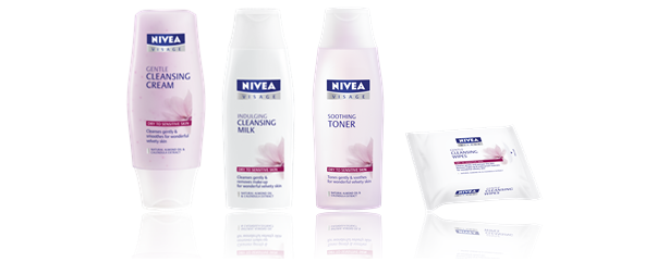 Nivea Visage Essentials Dry Skin Cleansing