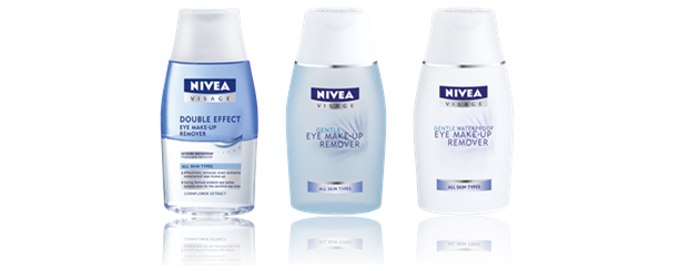 Nivea Visage Essentials Eye Make-up Removers