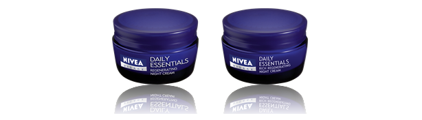 Nivea Visage Essentials Night Creams