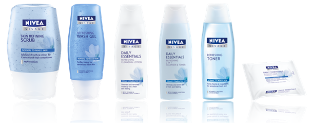 Nivea Essentials Normal Skin Cleansing