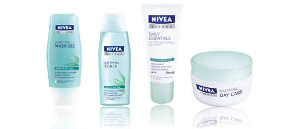 Nivea Visage Essentials Oily Skin