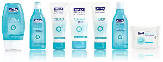 Nivea Visage Pure Effect Cleansers