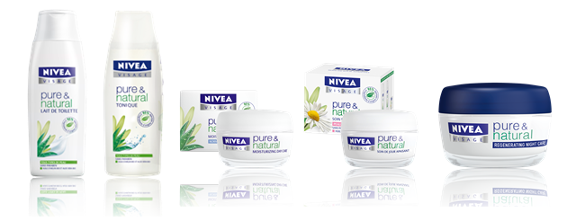 Nivea Visage Pure & Natural Cleansers & Moisturizers