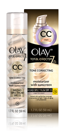 Olay CC Cream Total Effects Tone Correcting Moisturizer with Sunscreen - Fair to Light
