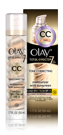 Olay CC Cream Total Effects Tone Correcting Moisturizer with Sunscreen - Light to Medium
