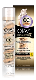 Olay CC Cream Total Effects Tone Correcting Moisturizer with Sunscreen - Medium to Deep