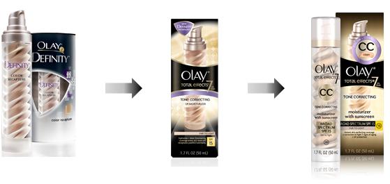 Olay Definity to CC Cream