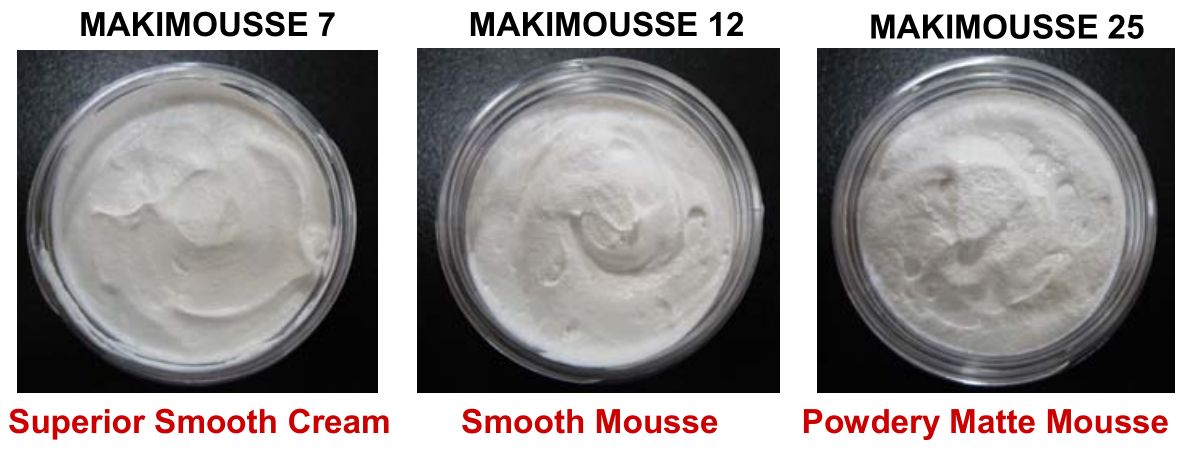 Makimousse Textures