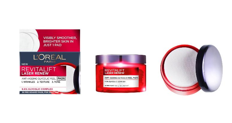 L'Oréal Paris Revitalift Laser X3 Disques Peeling Anti-Âge..